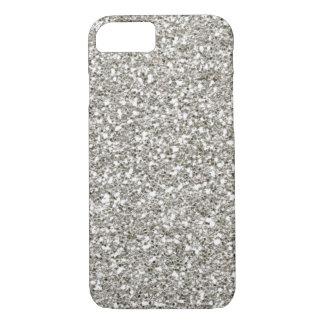 Capa iPhone 8/7 Caso de prata lindo do iPhone 7 do brilho da VENDA