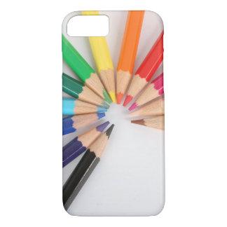 Capa iPhone 8/7 Caso do duro 6s do iPhone 7 do desenho da arte dos