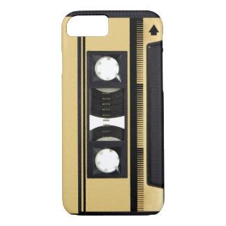 Capa iPhone 8/7 Caso do iPhone 6 da cassete áudio