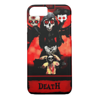 Capa iPhone 8/7 Caso do iPhone 6 do cartão de Tarot da morte