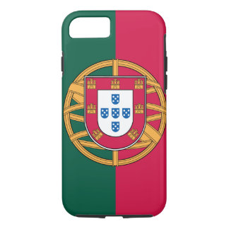 Capa iPhone 8/7 caso do iPhone 7, bandeira portuguesa