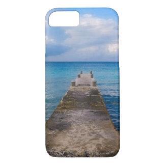 Capa iPhone 8/7 caso do iPhone 7 - cais com uma vista para o mar