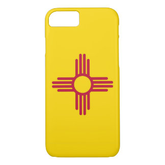 Capa iPhone 8/7 caso do iPhone 7 com a bandeira de New mexico