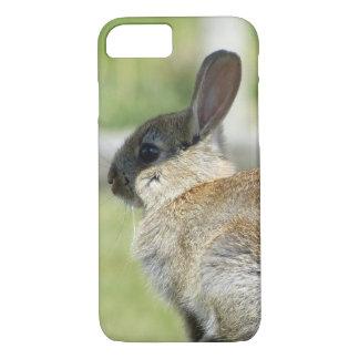 Capa iPhone 8/7 caso do iPhone 7 com coelho no perfil