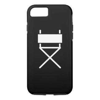 Capa iPhone 8/7 Caso do iPhone 7 da Cadeira Pictograma do diretor