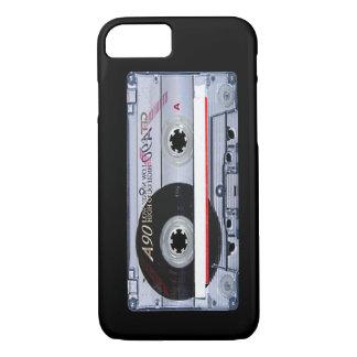 Capa iPhone 8/7 Caso do iPhone 7 da fita da cassete áudio