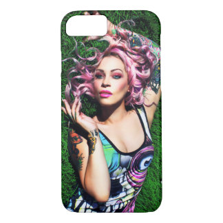 "Capa iPhone 8/7 Caso do iPhone 7 da ""grama"" de RoxyLeeHeart"