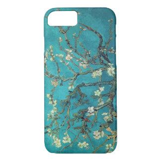 Capa iPhone 8/7 Caso do iPhone 7 das flores da amêndoa de Van Gogh