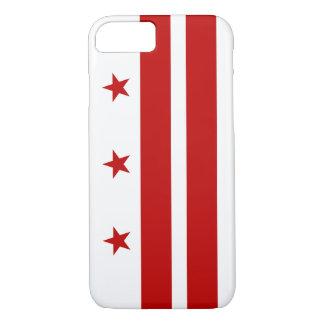 Capa iPhone 8/7 Caso do iPhone 7 de Washington C.C. Bandeira