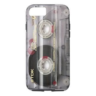 Capa iPhone 8/7 Caso do iPhone 7 do espaço livre da cassete de