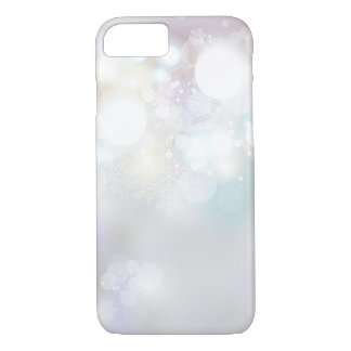 Capa iPhone 8/7 Caso do iPhone 7 do inverno dos Sparkles & do