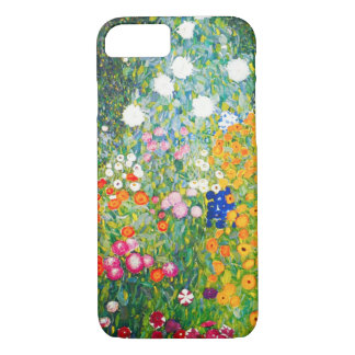 Capa iPhone 8/7 Caso do iPhone 7 do jardim de Gustavo Klimt