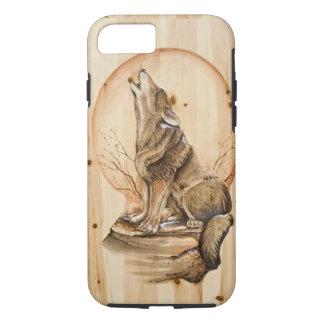 Capa iPhone 8/7 Caso do iPhone 7 do lobo do urro