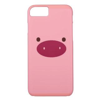 Capa iPhone 8/7 caso do iPhone 7 do porco