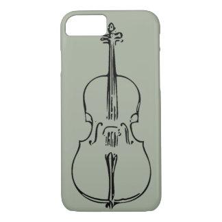 Capa iPhone 8/7 Caso do iPhone 7 do violoncelo