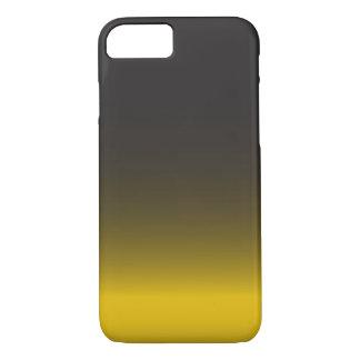 Capa iPhone 8/7 Caso do iPhone simples 6 do preto e do ouro