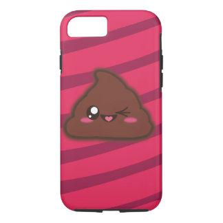 Capa iPhone 8/7 Caso engraçado do tombadilho de Kawaii para