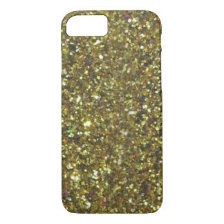 Capa iPhone 8/7 Caso lindo do iPhone 7 do brilho do ouro da VENDA
