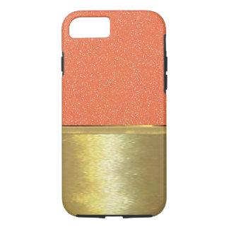 Capa iPhone 8/7 caso magro do design do ouro de Shell do iPhone 7