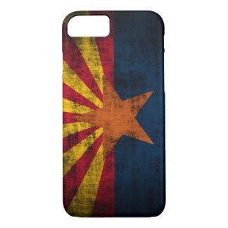 Capa iPhone 8/7 Caso mal lá Cas do iPhone 7 do Grunge da bandeira