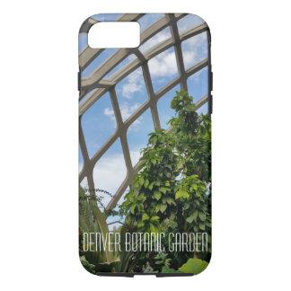 Capa iPhone 8/7 Caso resistente do ipphone do jardim botânico de