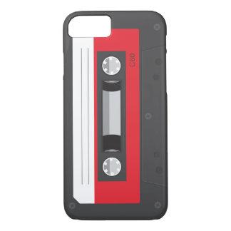 Capa iPhone 8/7 Caso retro engraçado do iPhone 7 da cassete de