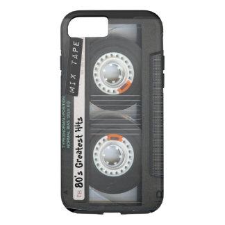 Capa iPhone 8/7 Cassete de banda magnética customizável