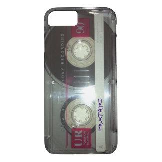 Capa iPhone 8/7 Cassete de banda magnética do vintage - Mixtape