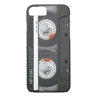 Capa iPhone 8/7 Cassete de banda magnética retro
