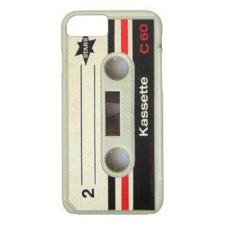 Capa iPhone 8/7 Cassete de banda magnética retro da gaveta nerdy