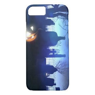 Capa iPhone 8/7 Cemitério da noite do Dia das Bruxas