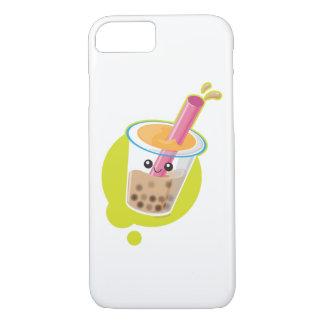 Capa iPhone 8/7 Chá do leite de Kawaii Boba