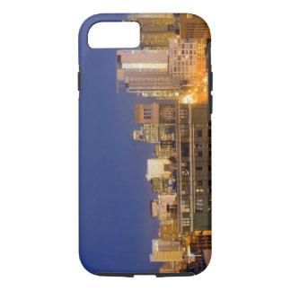 Capa iPhone 8/7 Chicago, Illinois, skyline disparou do laço