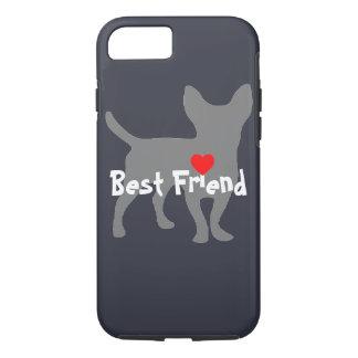 "Capa iPhone 8/7 Chiwawa ""melhor amigo """