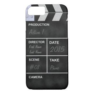 Capa iPhone 8/7 cinema do clapperboard