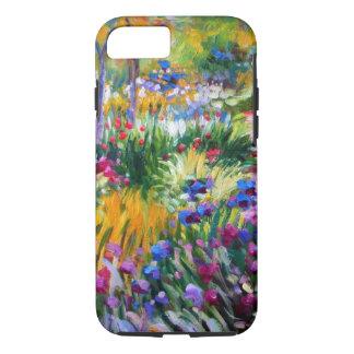Capa iPhone 8/7 Claude Monet: Jardim da íris por Giverny