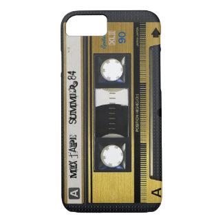 Capa iPhone 8/7 cobrir retro 1 da fita da mistura da cassete de