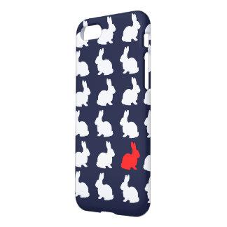 Capa iPhone 8/7 Coelho de coelhos à moda IPhone 8/7 de cobrir da