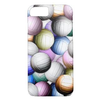 Capa iPhone 8/7 Colagem do voleibol
