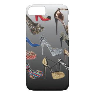 Capa iPhone 8/7 Colagem dos saltos altos dos calçados