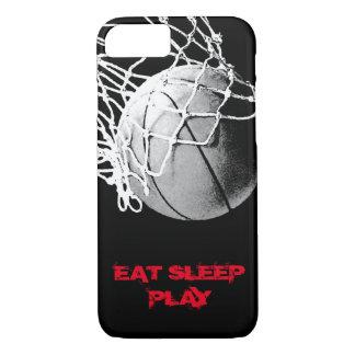 Capa iPhone 8/7 Coma a CAIXA do iPhone 7 do basquetebol do jogo do