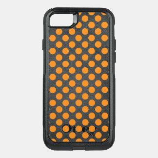 Capa iPhone 8/7 Commuter OtterBox Bolinhas alaranjadas