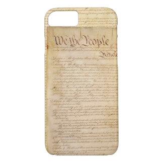 CAPA iPhone 8/7 CONSTITUIÇÃO DOS E.U.