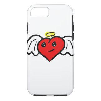 Capa iPhone 8/7 Coração do anjo (colorido)