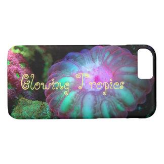 Capa iPhone 8/7 Coral submarino de incandescência