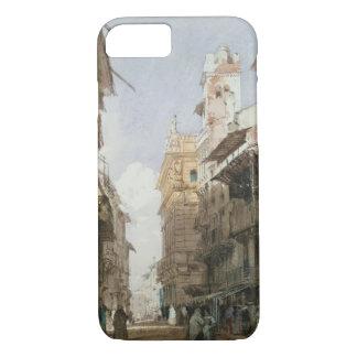 Capa iPhone 8/7 Corso Sant'Anastasia, Verona, com o palácio de P