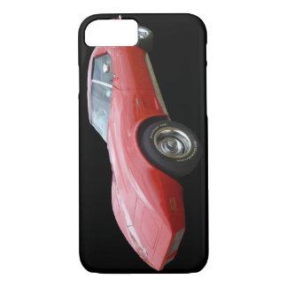Capa iPhone 8/7 Corveta vermelha - caso do iPhone 7