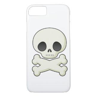 Capa iPhone 8/7 Crânios bonitos do gótico do kawaii do emo do