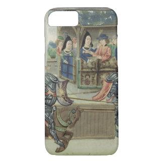 Capa iPhone 8/7 Crónica de Fr.16830 f.16v de Jacques de Lalain