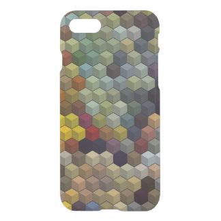 Capa iPhone 8/7 Cubos/blocos multicoloridos geométricos dos